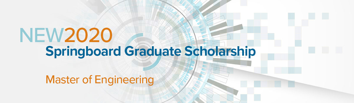 UConn School of Engineering, 2020 Springboard Graduate Scholarship